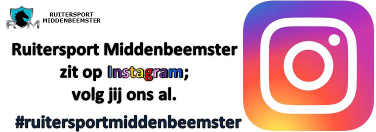 Instagram 2020. Ruitersport Middenbeemster