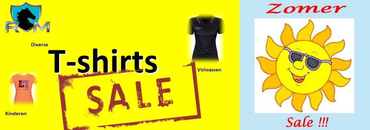 Summer sale Ruitersport Middenbeemster 2018. laatste week. shirts